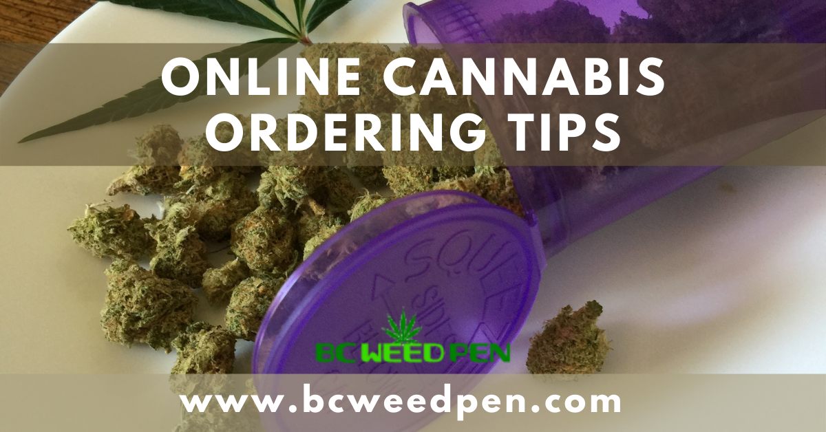 Online Cannabis Ordering Tips