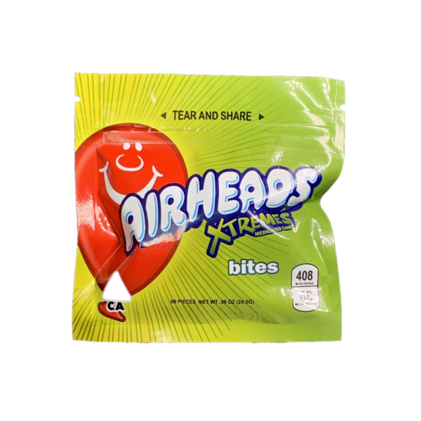 Buy Airheads Xtremes bites 408mg THC