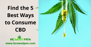 5 Best Ways to Consume CBD