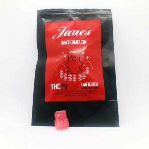 Jane's THC Weed gummies 10mg - Watermelon